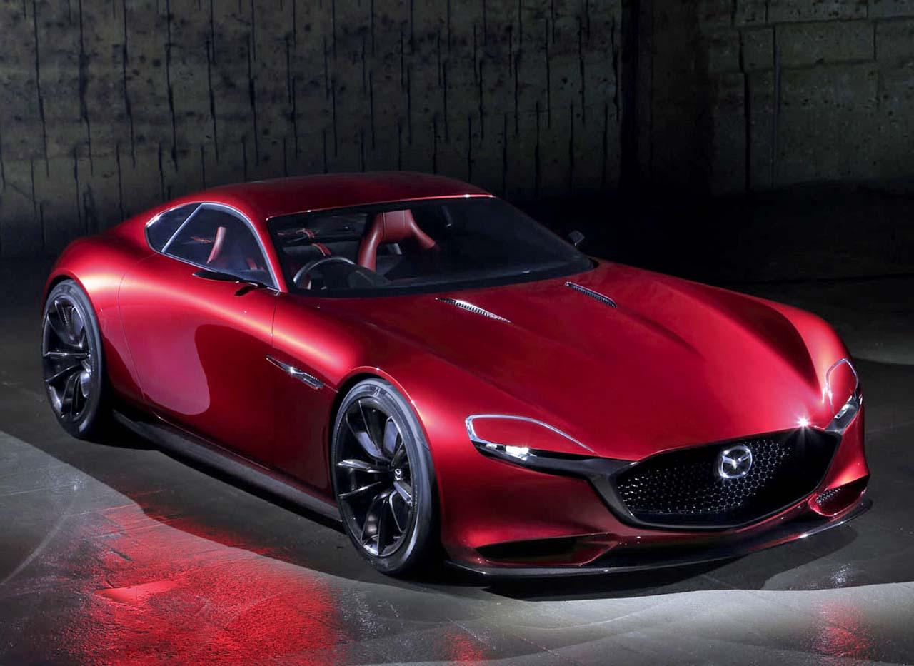 mazda rx vision concept cars diseno art. Black Bedroom Furniture Sets. Home Design Ideas