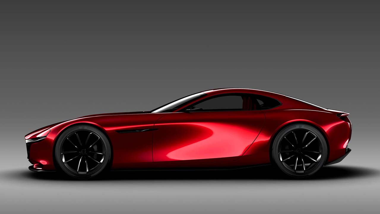mazda rx vision concept cars diseno art. Black Bedroom Furniture Sets. Home Design Ideas