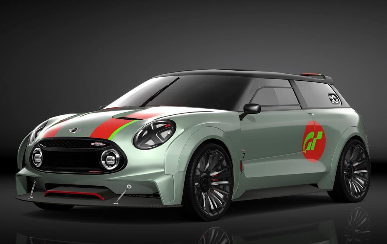 Mini Clubman Vision Gran Turismo Concept Cars Diseno Art