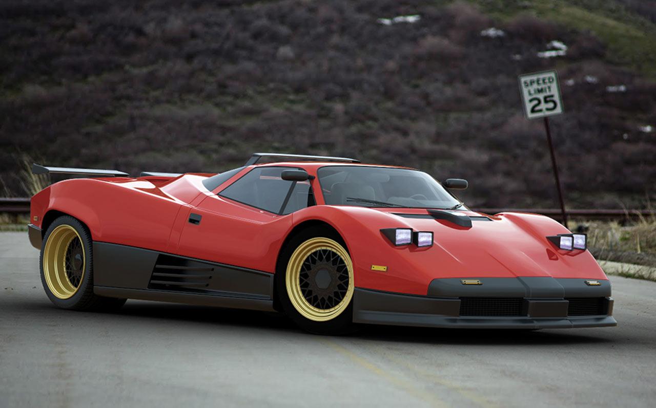 Retro Pagani Zonda Concept Concept Cars Diseno Art