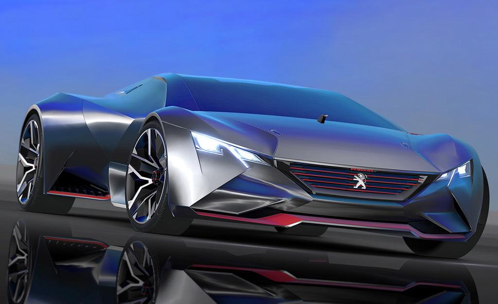 Peugeot Vision Gran Turismo Concept Concept Cars