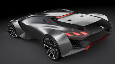Peugeot Vision Gran Turismo concept for GT6