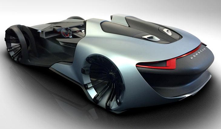 Porsche 911 vision esquisite concept cars diseno art for Porche diseno
