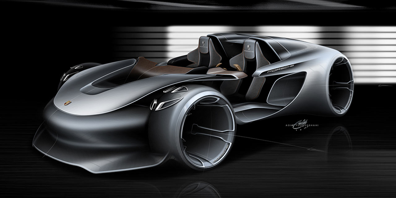 Porsche 911 vision esquisite concept cars diseno art - Porche diseno ...