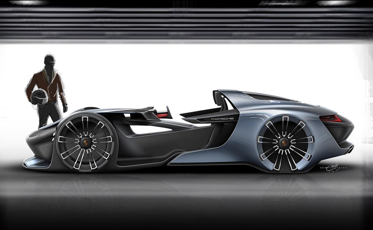 Porsche 911 Vision Esquisite Concept Cars Diseno Art