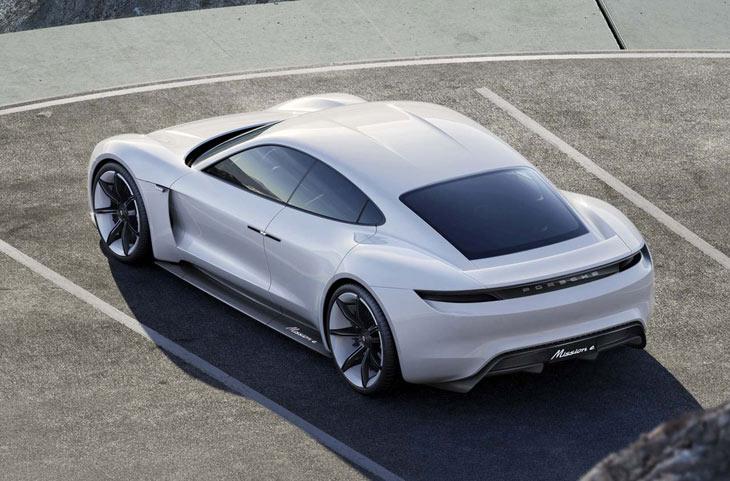 Porsche mission e concept cars diseno art for Porche diseno