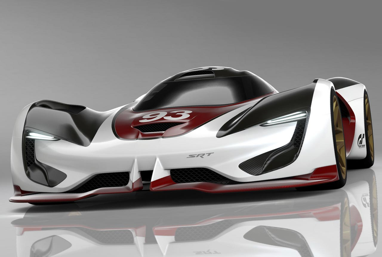 srt tomahawk vision gran turismo concept cars disenoart