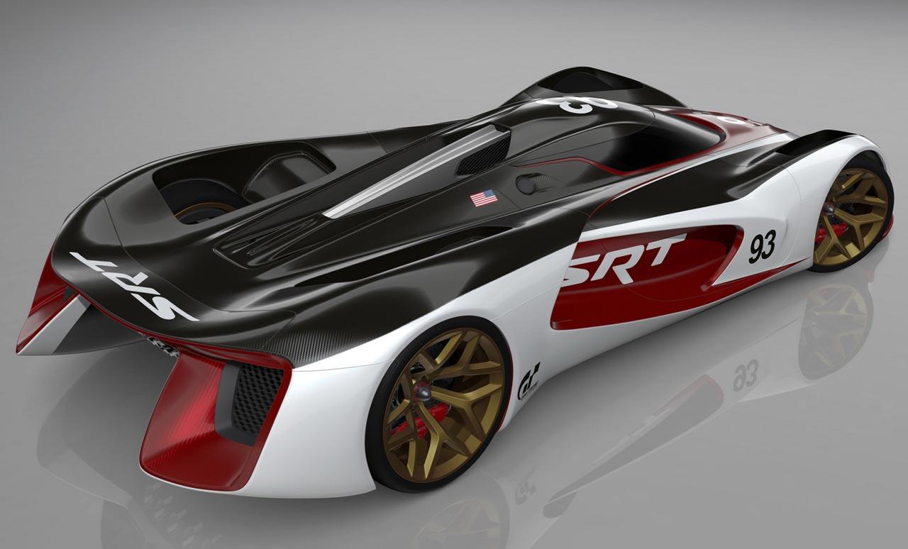 Srt Tomahawk Vision Gran Turismo Concept Cars Diseno Art