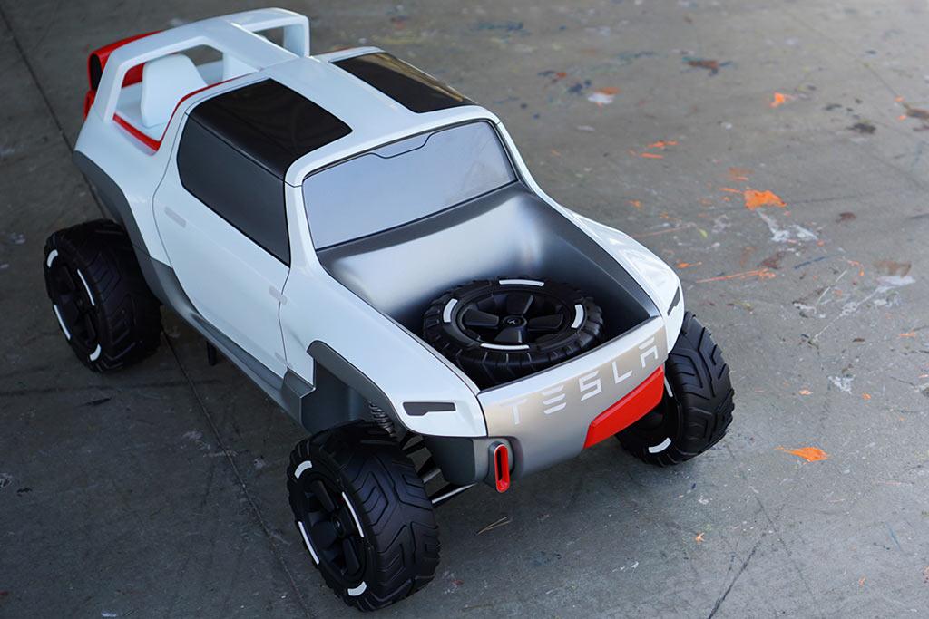 Tesla Allterrain Concept Cars DisenoArt - All tesla cars