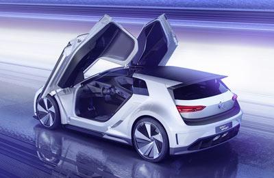 volkswagen golf gte sport concept cars diseno art. Black Bedroom Furniture Sets. Home Design Ideas