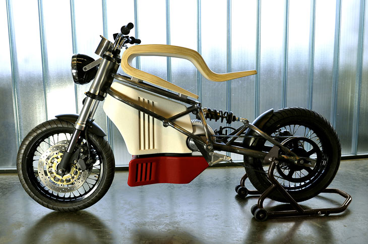 Expemotion e-Raw electric motorcycle