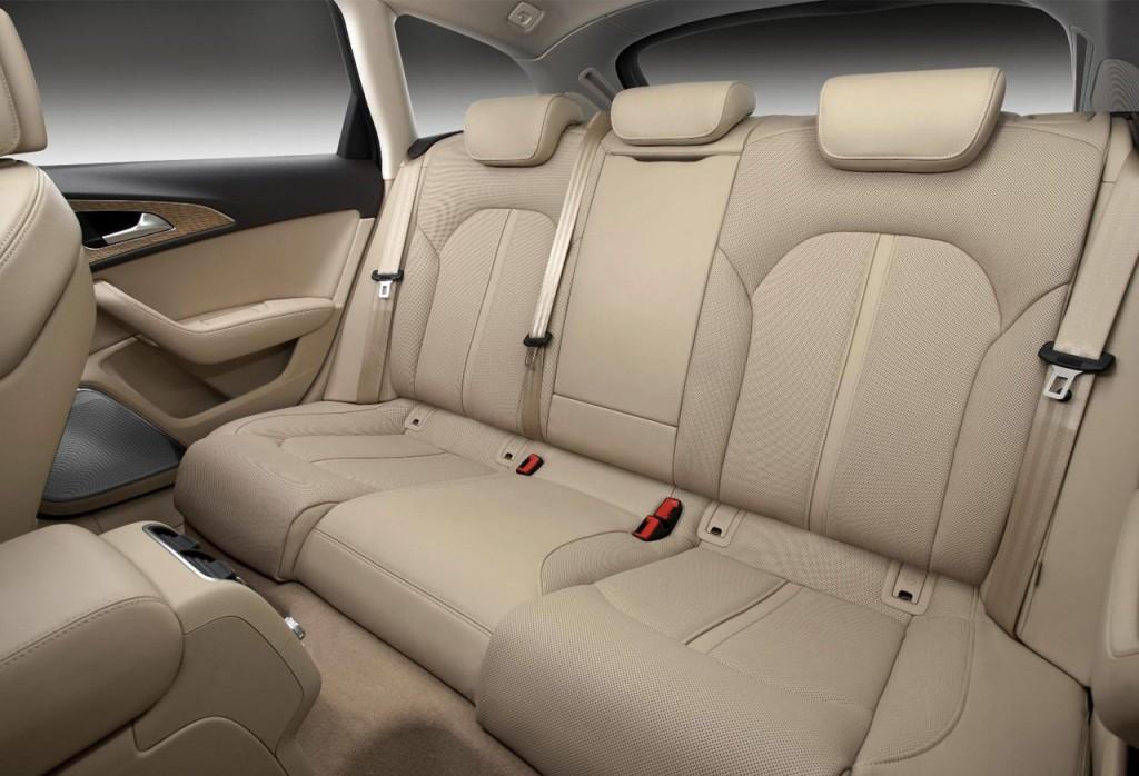 Audi A6 Avant back seats