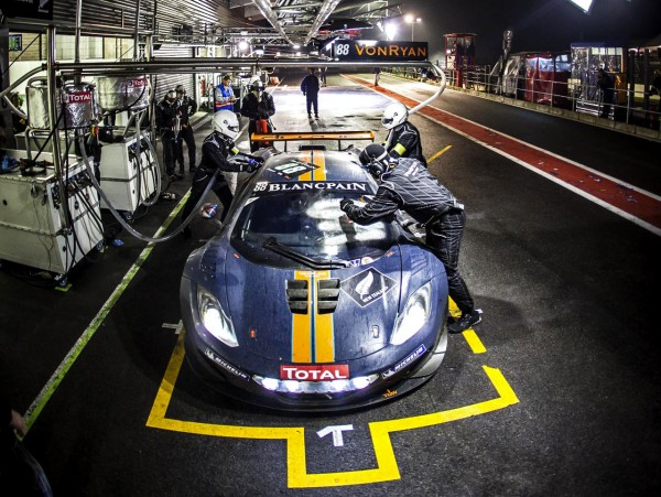 2012 McLaren 12C GT3 at 24 Hours of Spa