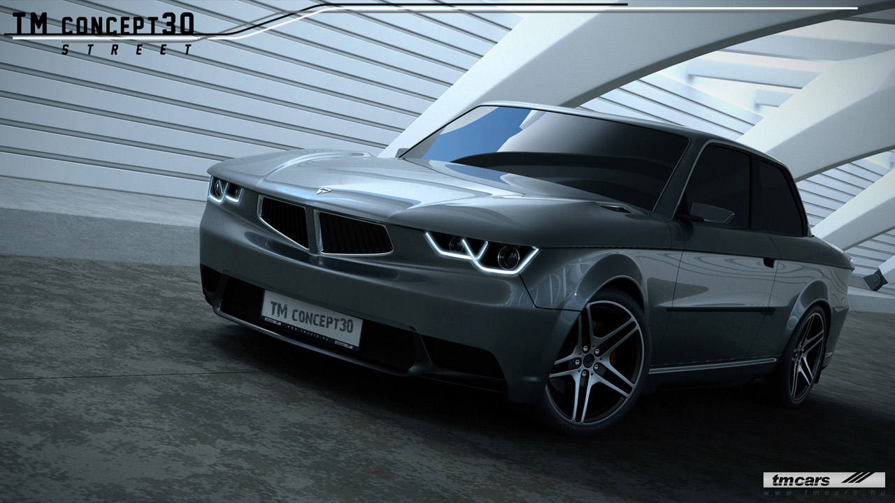 2012 TMcars concept30 based on BMW e30