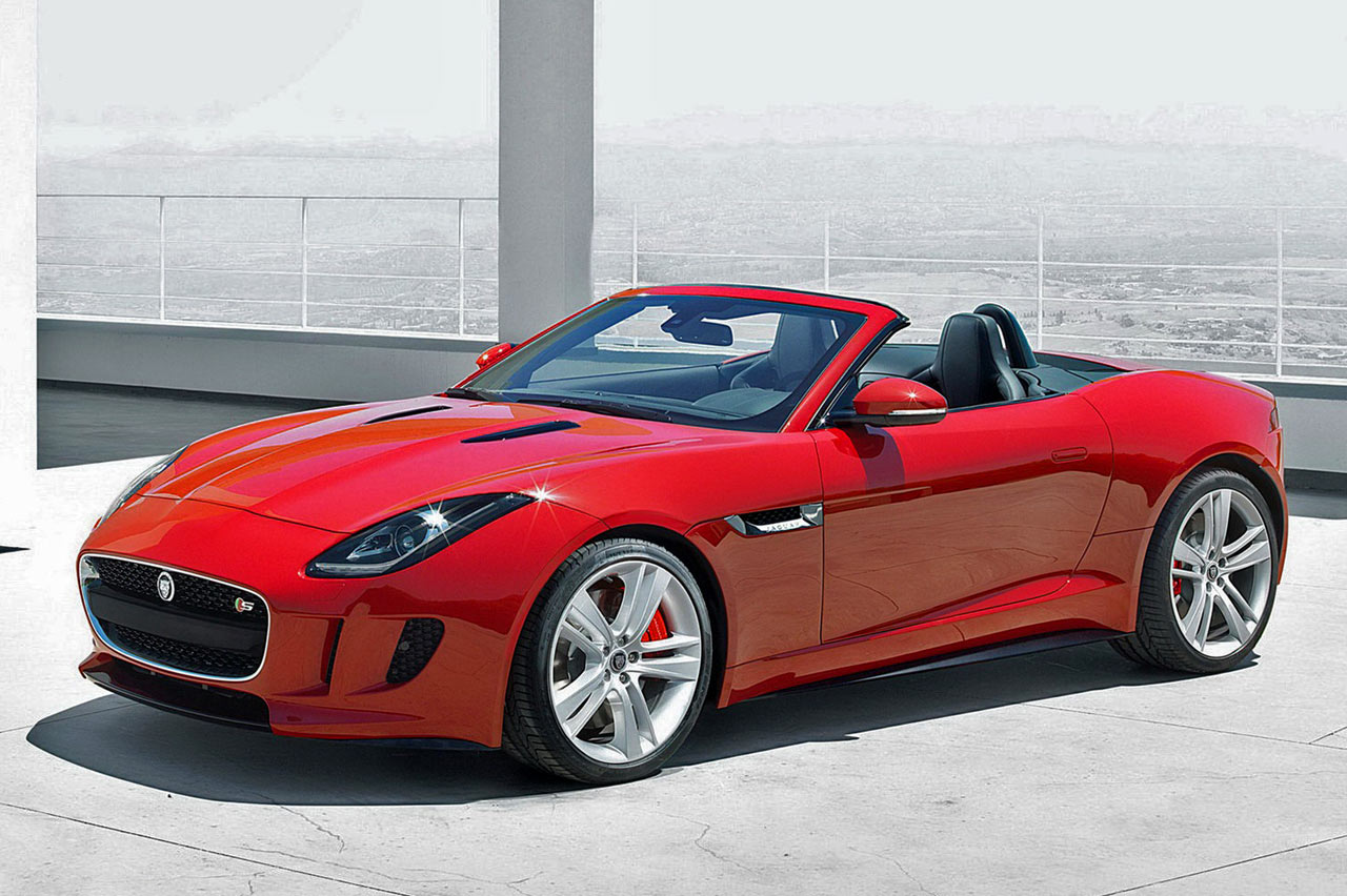 jaguar f type diseno art