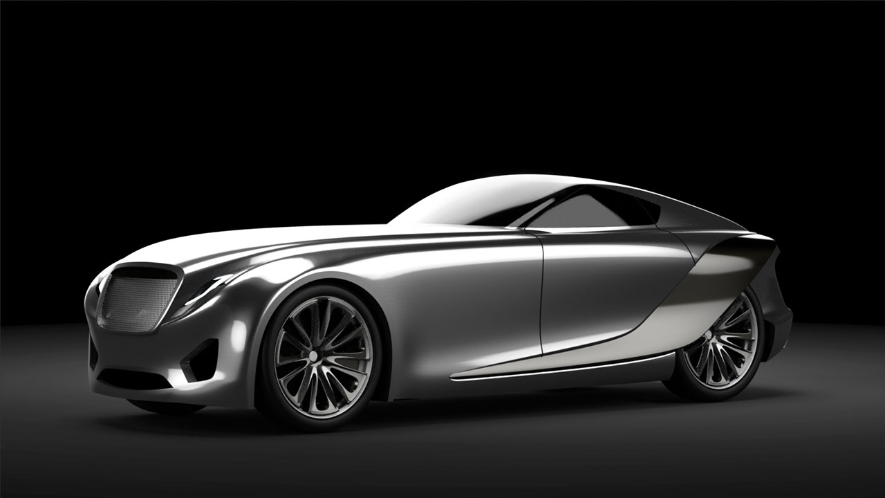 bentley 2030 concept - Sports Cars 2030