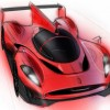 Ferrari P4/5 LMP race car