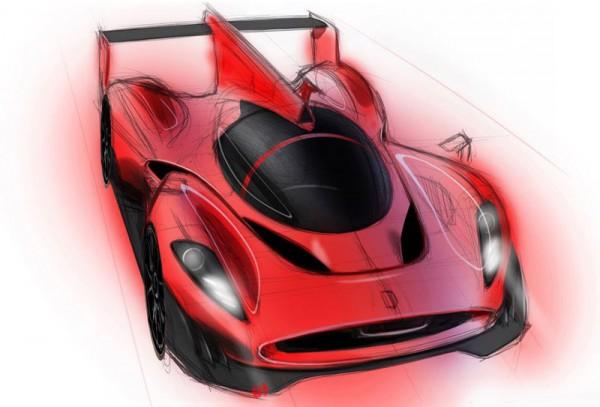 Ferrari P4/5 LMP race car