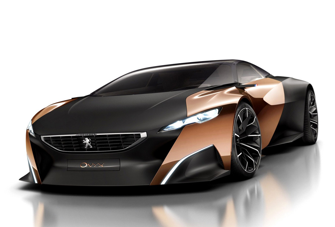 Peugeot Onyx concept supercar