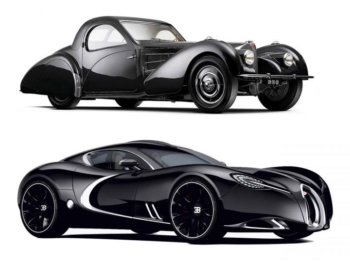 Bugatti Type 57 and Gangloff Concept