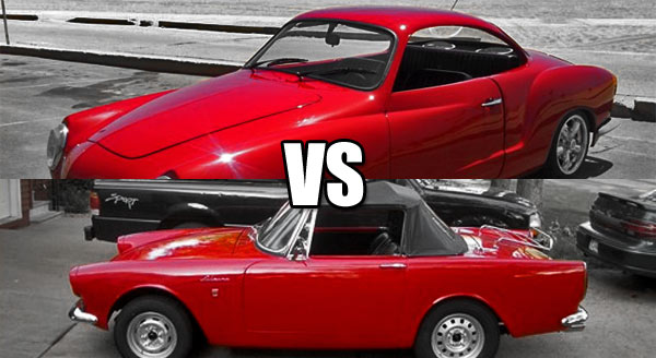 Karmann Ghia vs Sunbeam Alpine