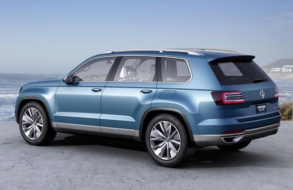 Volkswagen CrossBlue concept SUV