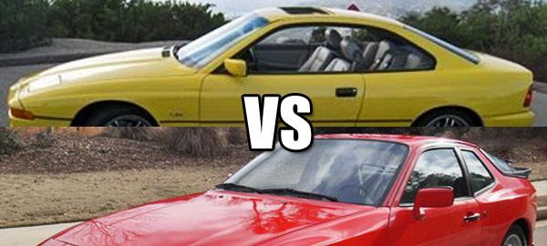 BMW and Porsche