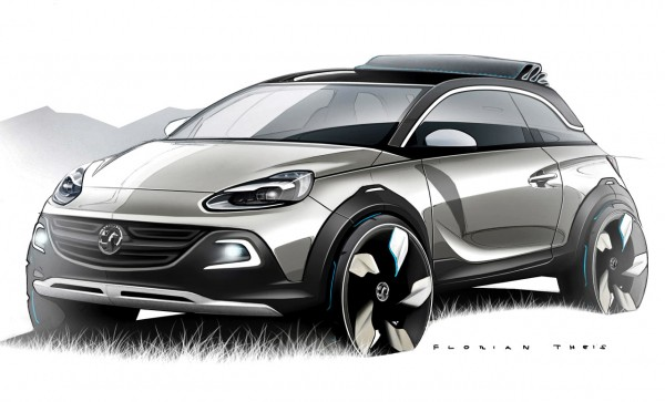 Vauxhall/Opel ADAM ROCKS