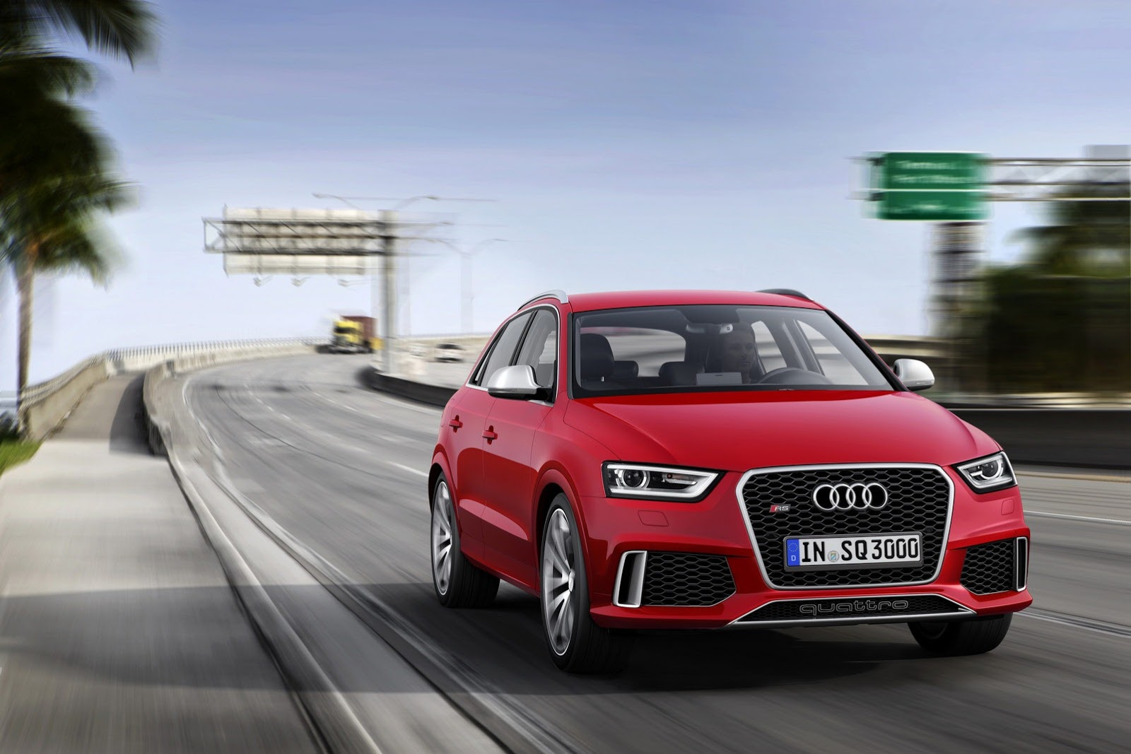 Order books for the Audi RS Q3 will open this summer. The first