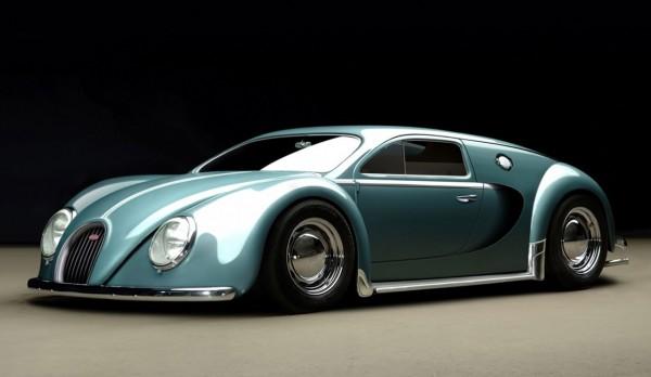 Bugatti Veyron Volkswagen Beetle