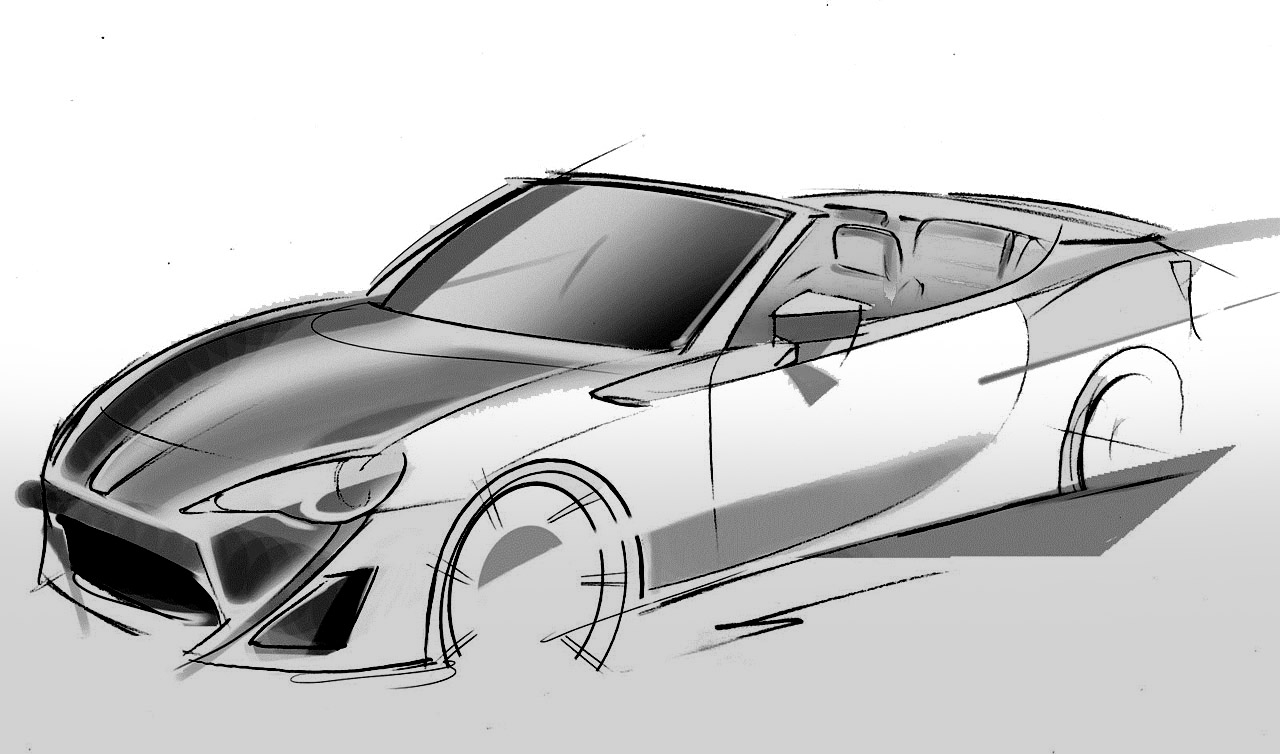 Several Artistic Concepts For Main Door : Several Artistic Concepts For Main Door : Toyota Ft 86 Open Concept ...