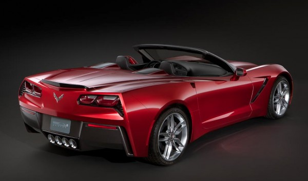 C7 Chevrolet Corvette Stingray Convertible