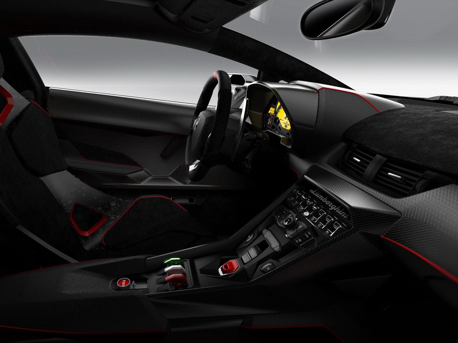 Lamborghini Veneno 2014 Interior