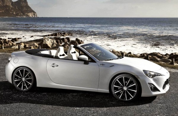 Toyota FT-86 Open Concept Convertible