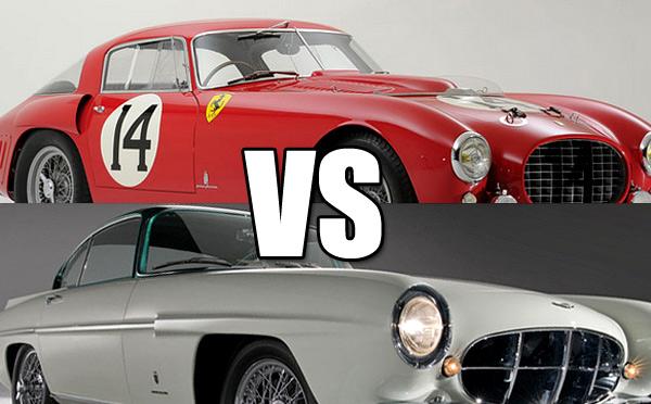Ferrari versus Aston Martin