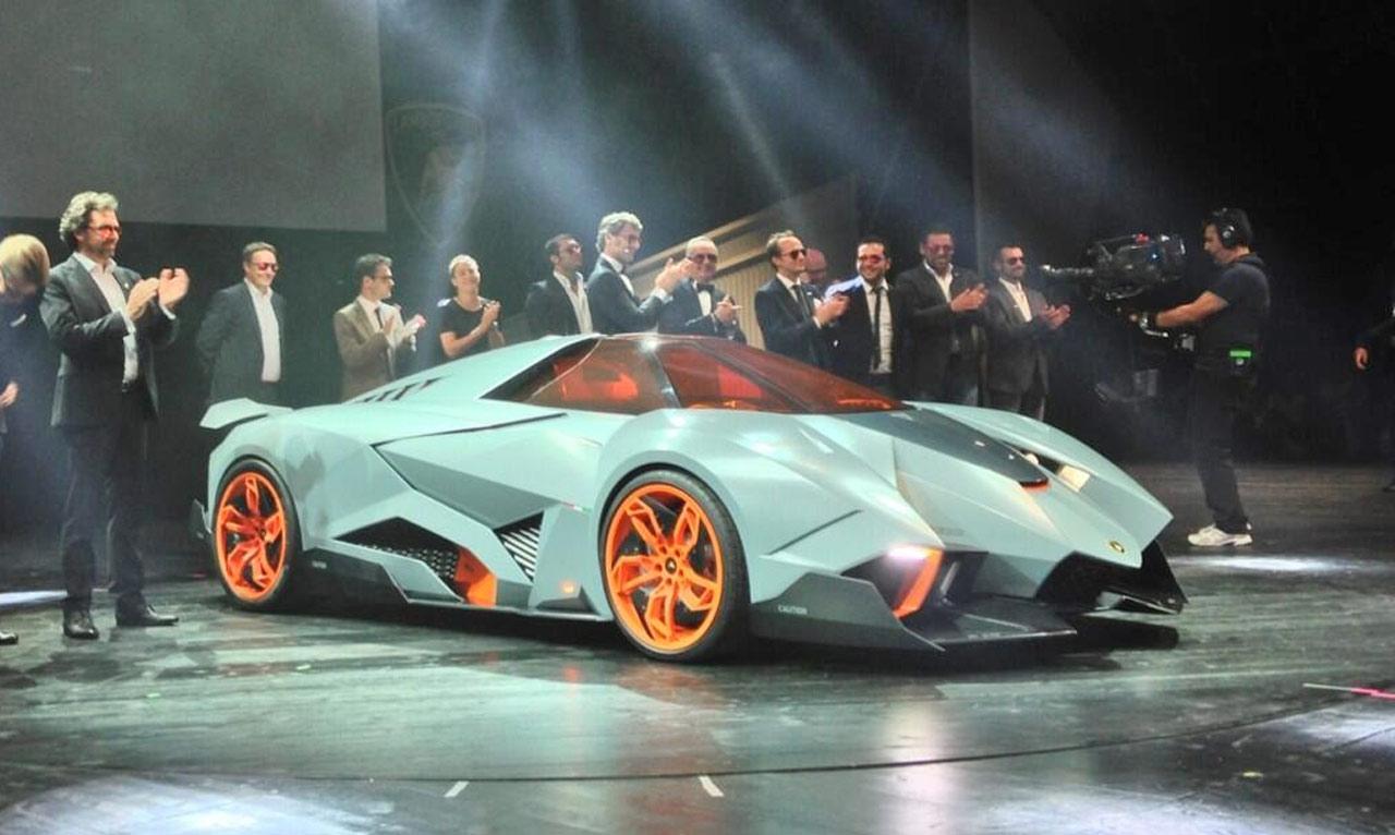 Lamborghini Concept 2013 Egoista Source Lamborghini