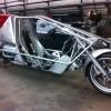 Suprine Exodus recumbent motorcycle