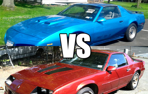camaro and firebird