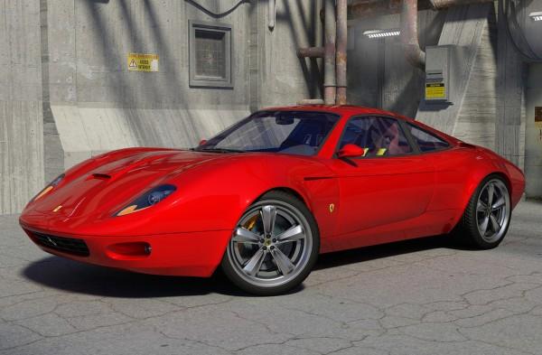 Ferrari Figaro concept car
