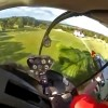 helicopter pilot rescues rc plane