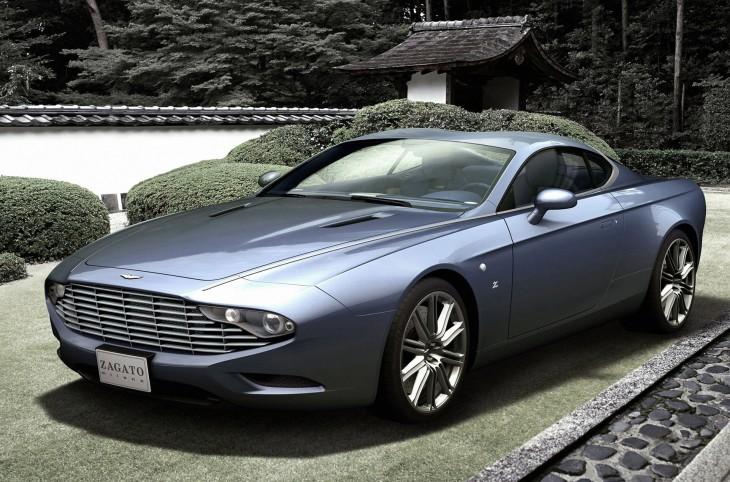 Aston-Martin DBS Coupe Zagato Centennial