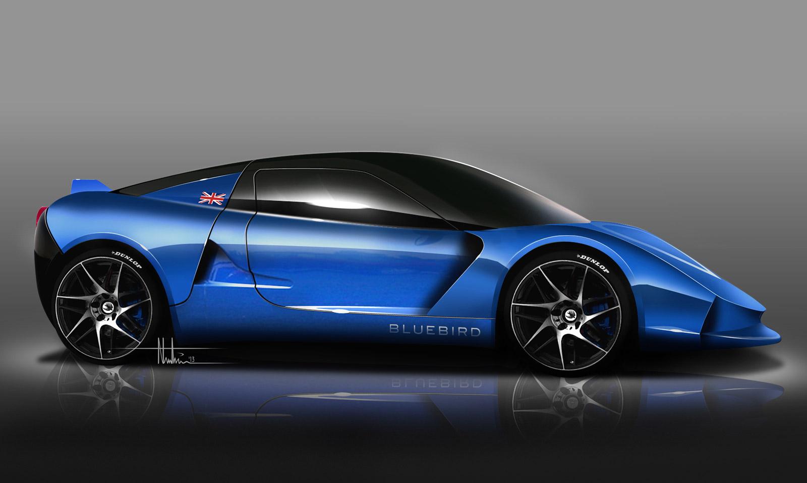 Electric Sports Car 118