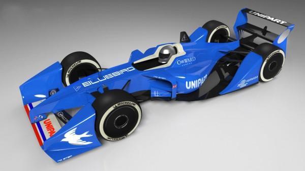 Bluebird GTL Formula E electric race car