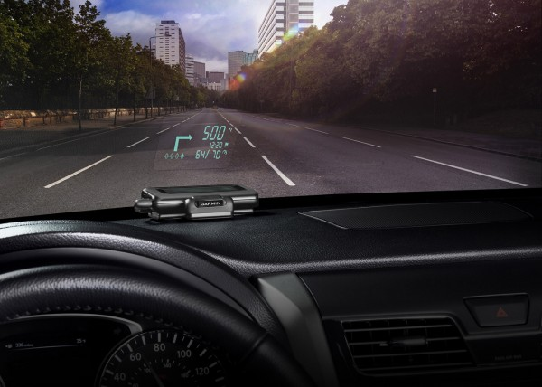 Garmin HUD Head-up Display system