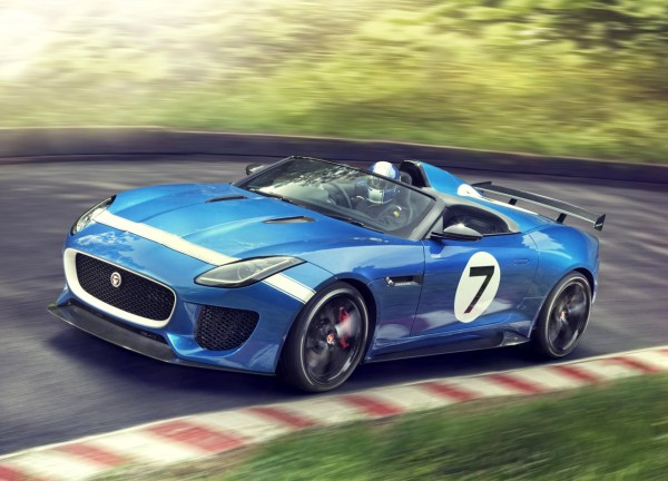 Jaguar Project 7 based on F-Type