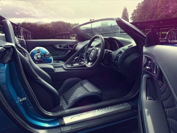 Jaguar Project 7 based on F-Type interior
