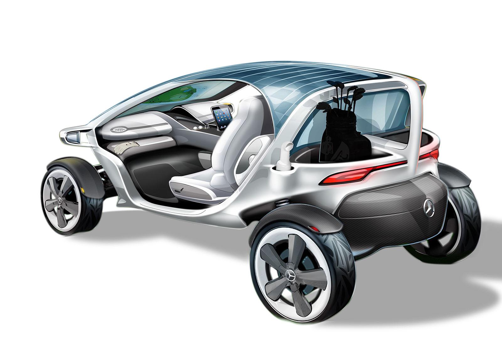 Mercedes golf carts for Mercedes benz golf cart