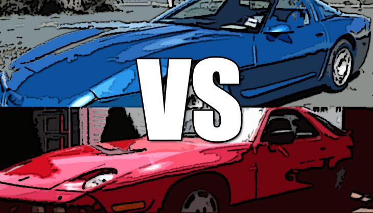 Corvette and Porsche