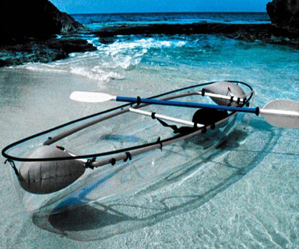 Transparant Canoe-Kayak