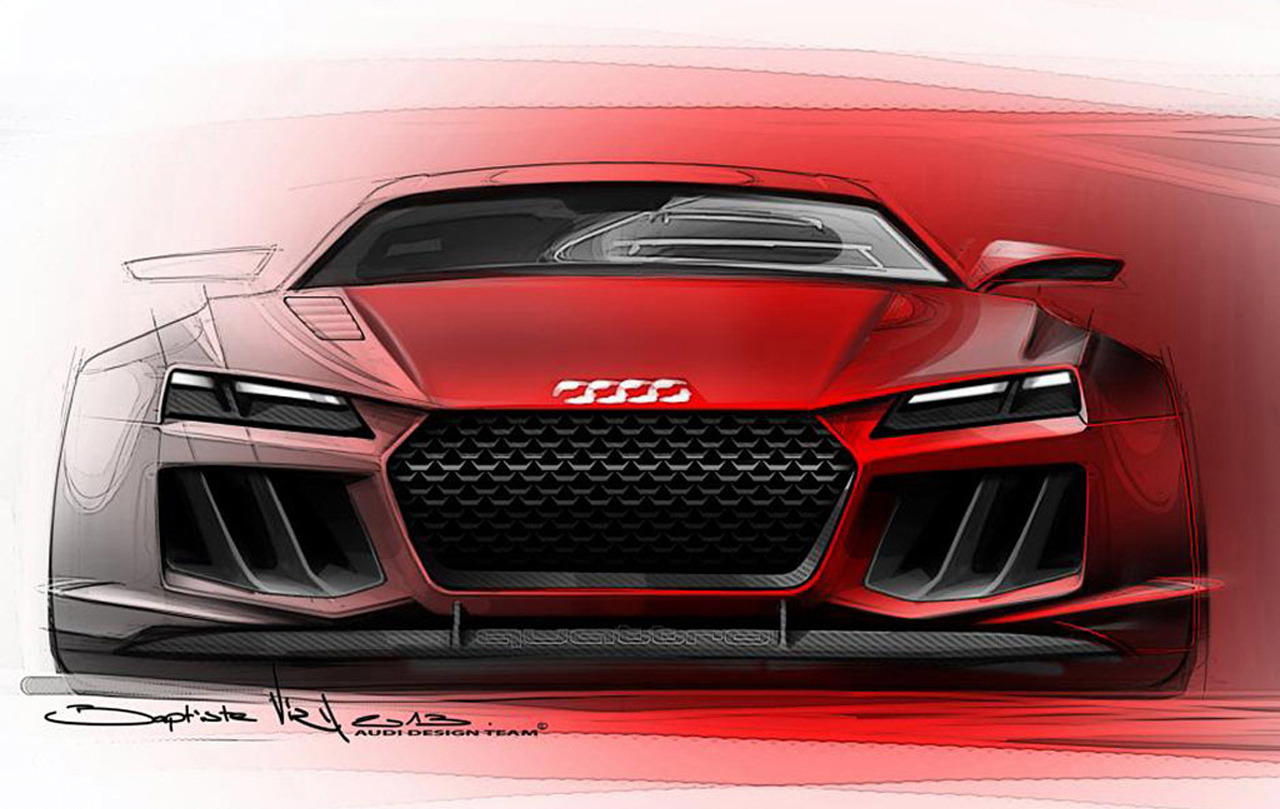 Motor show will be this the audi quattro sport e tron the car